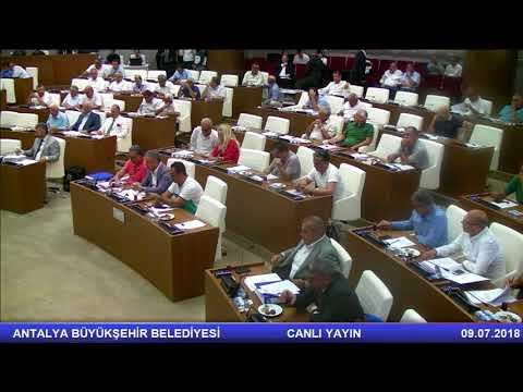 09.07.2018 Tarihli Meclis Toplantısı