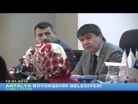 12.01.2016 Tarihli Devam Meclisi Toplantısı