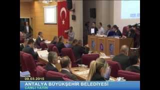 09.03.2015 Tarihli Meclis Toplantısı