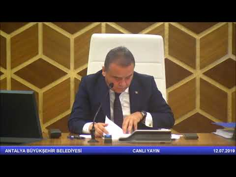 12.07.2019 Tarihli Meclis Toplantısı
