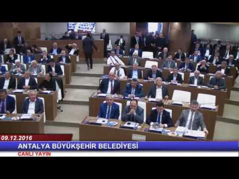 09.12.2016 Tarihli Meclis Toplantısı