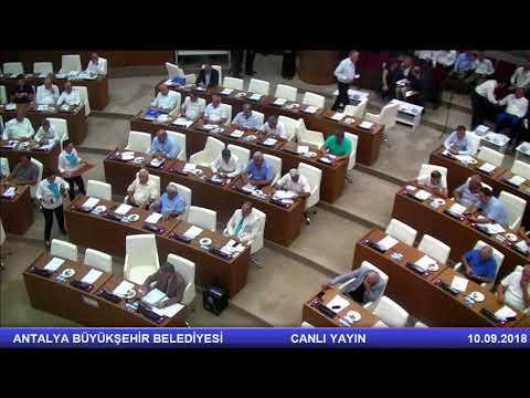 10.09.2018 Tarihli Meclis Toplantısı