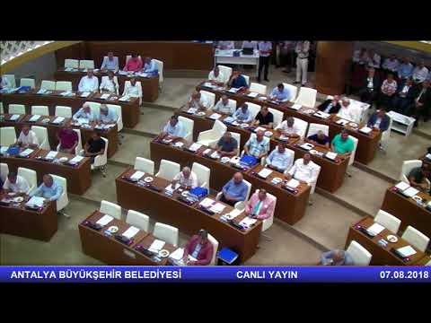 07.08.2018 Tarihli Meclis Toplantısı