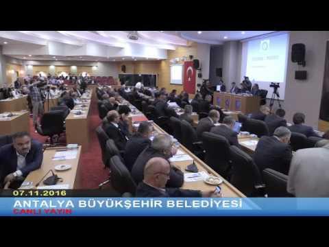07.11.2016 Tarihli Meclis Toplantısı