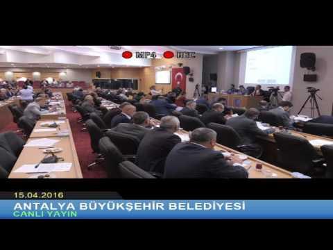15.04.2016 Tarihli Meclis Toplantısı