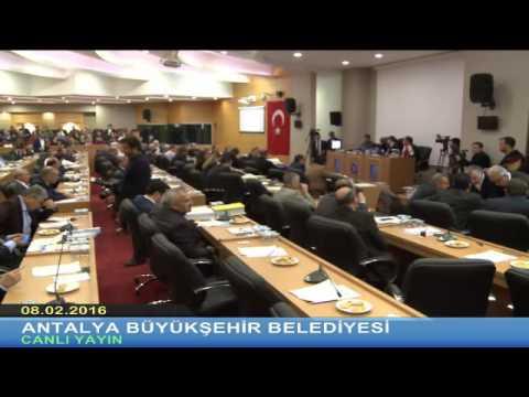 08.02.2016 Tarihli Meclis Toplantısı