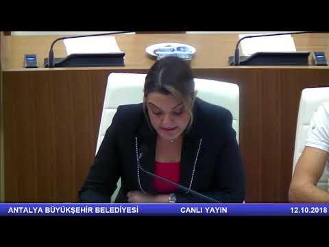 12.10.2018 Tarihli Meclis Toplantısı