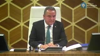 09.12.2019 Tarihli Meclis Toplantısı